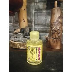 Aceite de quemador para eliminar energías negativas